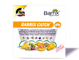 Buy online pheromone products for organic farming-Barrix catch fruit fly lure